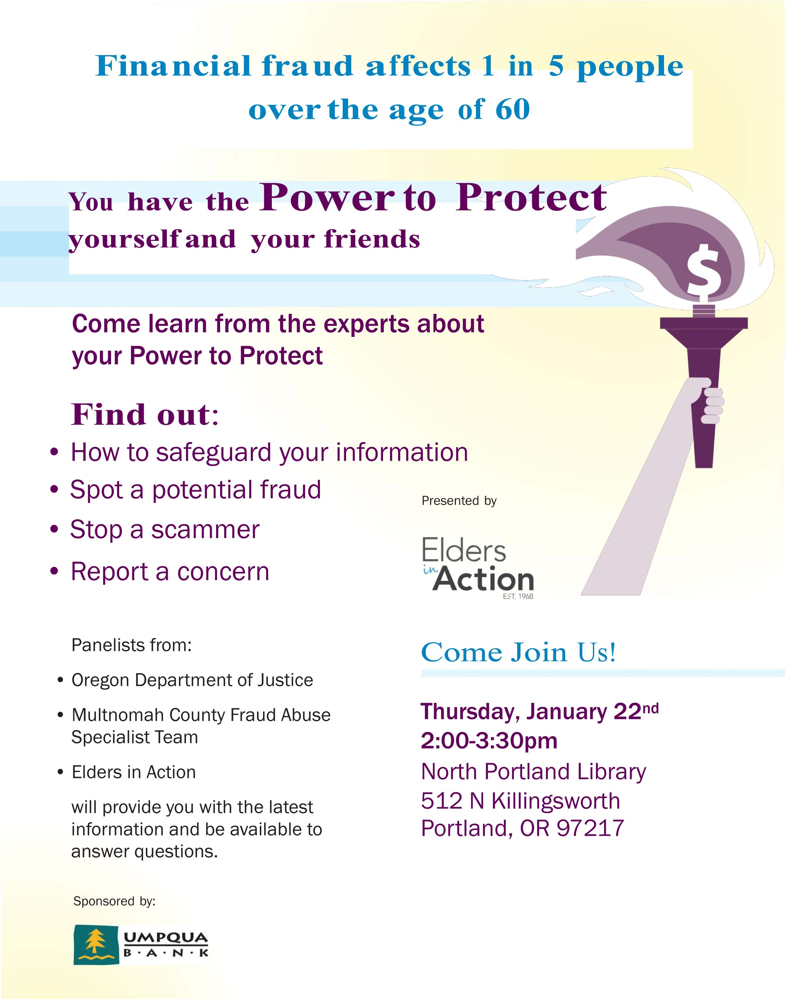 Fraud_Awareness flyer_North Library 1-22- 2015