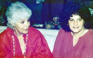 Miriam and Barbara circa 1984