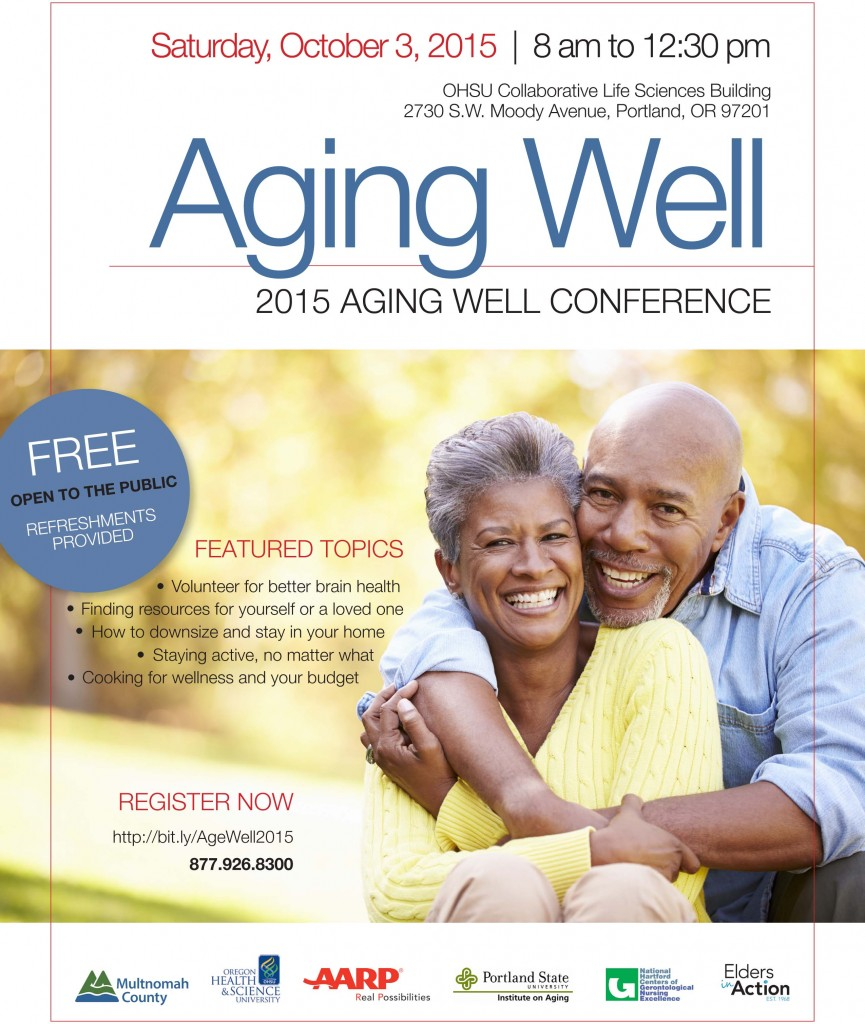 Register now => http://bit.ly/AgeWell2015
