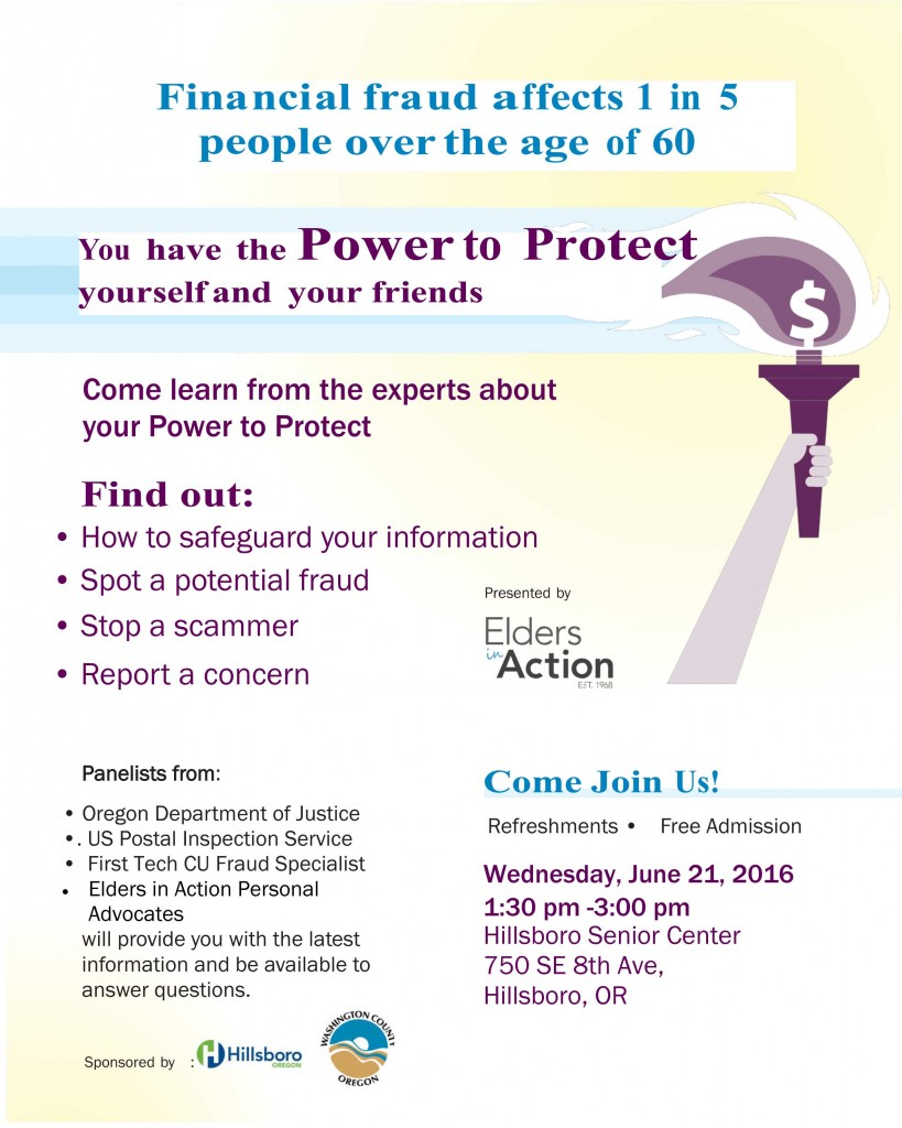 Power to Protect Hillsboro 2016